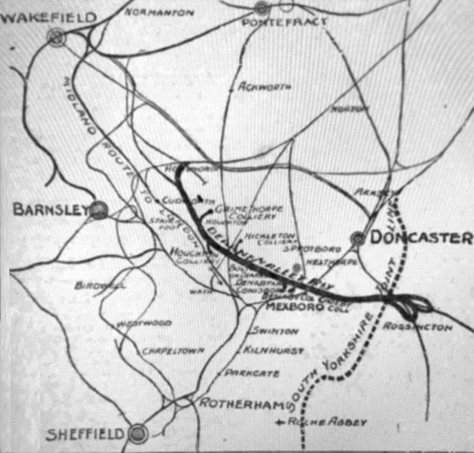 Dearne Valley Railway. 1 Denaby for Conisborough Railway Station Photo